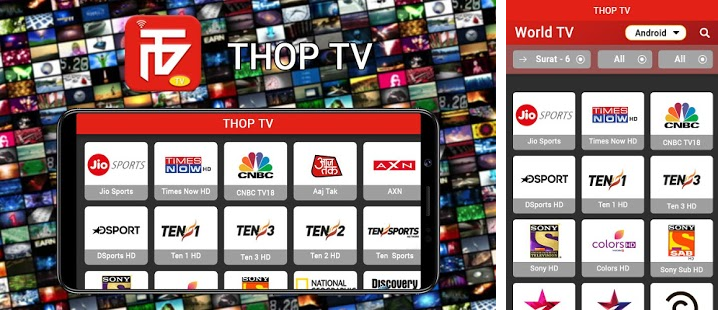 Thoptv App for Android