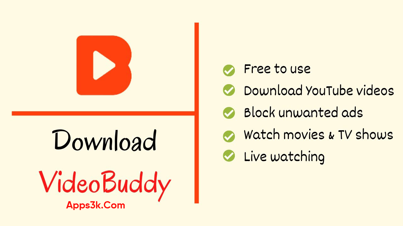 VideoBuddy APK Download Android