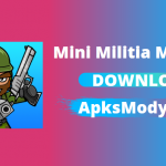 Doodle Army 2 Mini Militia Mod APK v5.3.4 Unlimited Everything Download 2021