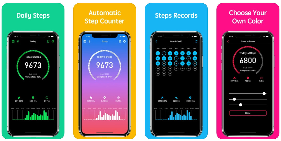 Step Counter Apps For Android And IOS Download 2021