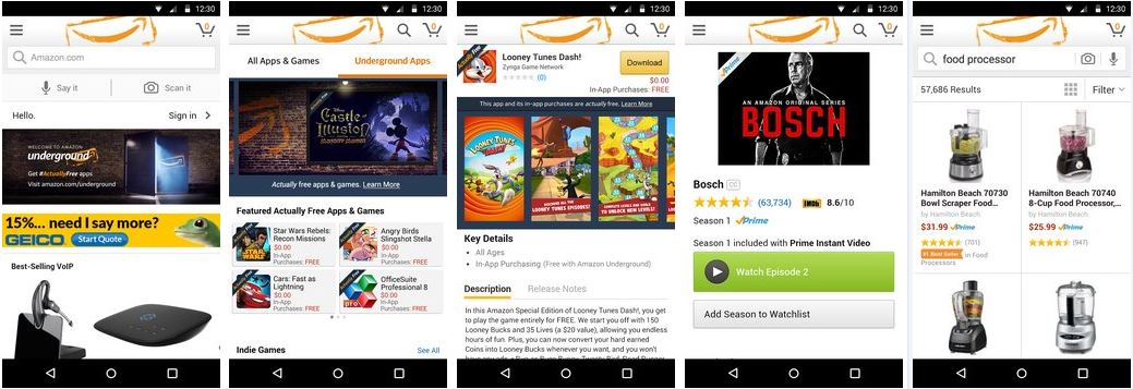 Amazon Underground Apk v16.18.0.200 for Android Download 2021