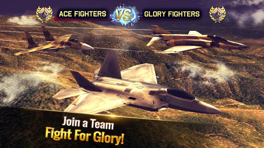 Ace Fighter Mod APK v2.64 (Unlimited Money) Download Android 2021